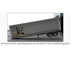 Vestil LO-J-BEAM Trailer Stabilizing Jacks