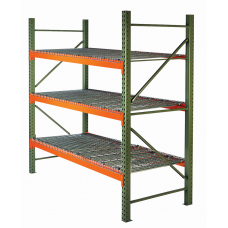 Husky 48x120x144x7820-3SW Pallet Rack Starter Unit - Wire Decking