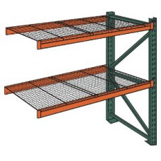 Husky 36x96x48x7383-2AW Pallet Rack Add-on with Wire Decking