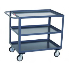 Jamco 3-Shelf SC124-U5 Steel Service Cart
