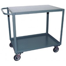 Jamco SE448-R6 Extra Durable 2-Shelf Steel Service Cart
