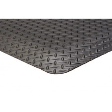 Apache Mills 2x3 Supreme Diamond Foot Black Mat