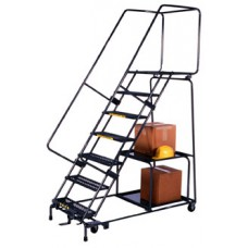 Ballymore SPL-7-14-P Stock Picking Perforated Treads Ladder
