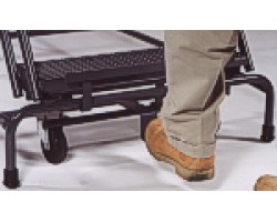 Ballymore SW532-X 50 Degree Walk Down Expanded Metal Treads Ladder