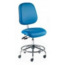 Free Shipping Biofit HCS-L-RC-1000-VF Vacuum Formed Ergonomic Cleanroom Chair