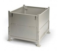 Davco Collapsible KD2GS-01 Sheet Metal Bulk Container