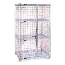 Eagle Group SC1430 Chrome Stationary Wire Security Cage