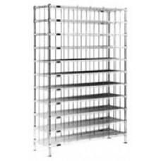 Eagle Group SR1460C Chrome Shoe Rack