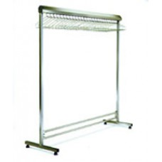 Eagle Group EP2448-SGRN Stainless Single Lab Garment Rack
