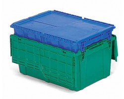 LEWISbins FP403 FliPak Attached Lid Container