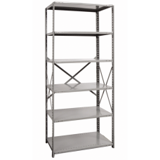 Hallowell 6-Shelf Hi-Tech Open Shelving Starter Unit | 4711-18