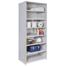 Hallowell Hi-Tech MedSafe Antimicrobial Finish Closed Shelving Units, 4723-18PL-AM Starter Unit
