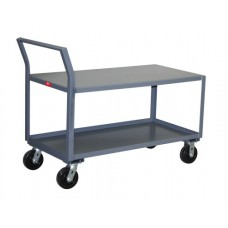 Jamco SX230-P6 Reinforced Low Profile 2-Shelf Steel Cart