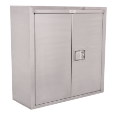 Jamco Stainless Steel Wall Cabinet, Model KS130 Cabinet