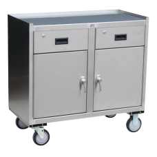 Jamco YV136-U5 Stainless Steel Mobile Cabinet Cart