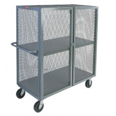 Jamco VB348-P6 Wire Mesh 2-Shelf Security Truck