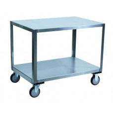 Jamco YB248-U5 Stainless Steel 2-Shelf Transfer Table Cart