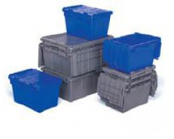 LEWISbins FP182 FliPak Attached Lid Container