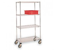 Wire Shelf Carts | Eagle Group Carts | Metro Carts | Nexel Carts