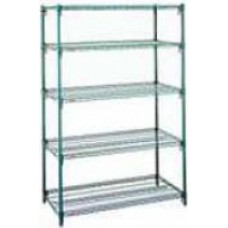 Metro 5-Shelf Metroseal Wire Shelving - Model 303674NK3