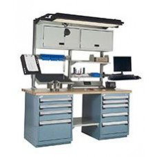 Rousseau Maintenance Workbench with Cabinets, R5WL5-2003 Workstation