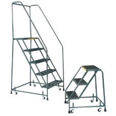 Ballymore H226-G Serrated Grating Rolling Safety Ladder