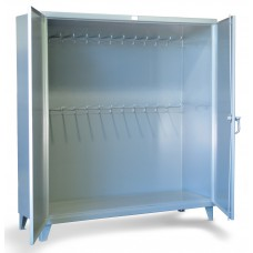 Strong Hold FM-15397 Storage Cabinet | Hanger Pegs
