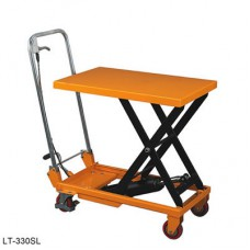 Wesco 272974 Folding Handle Manual Scissors Lift Table Cart