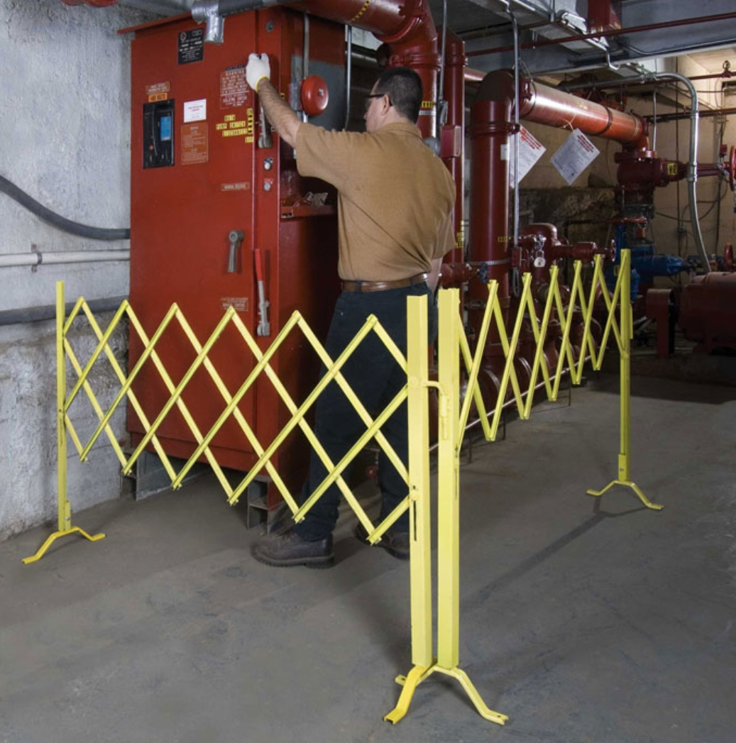 Security Accordion Barrier Gates