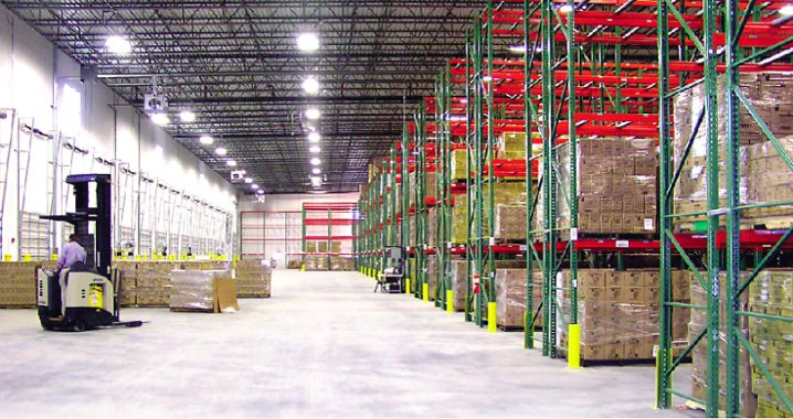 Picture husky pallet rack, warehouse racking