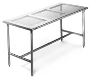 eagle perf stainless table