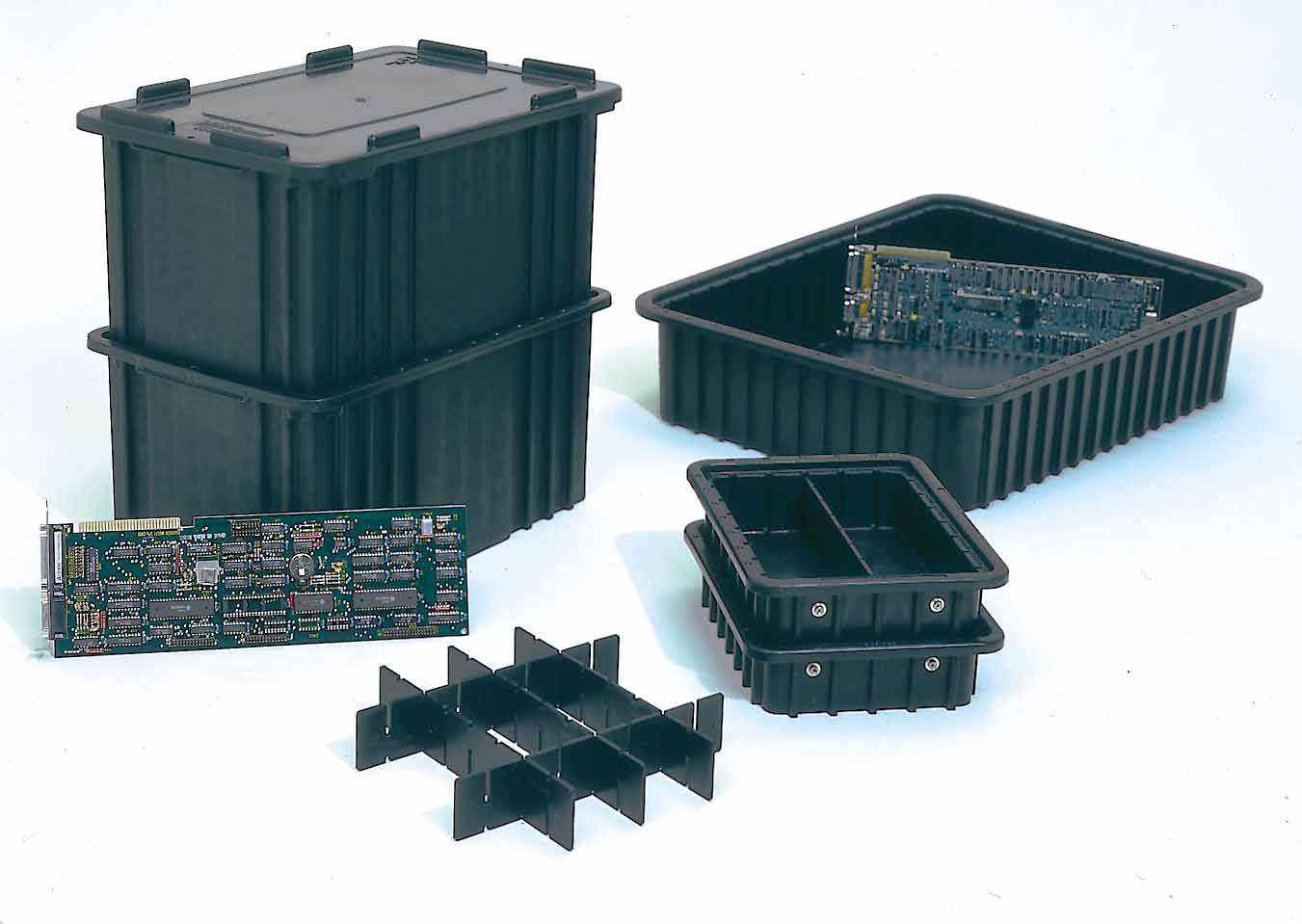 esd containers, esd trays