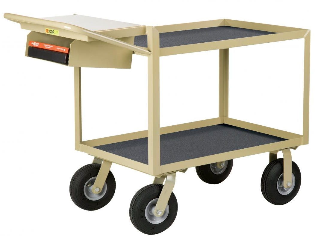 computer cart, test cart, little giant instrument cart