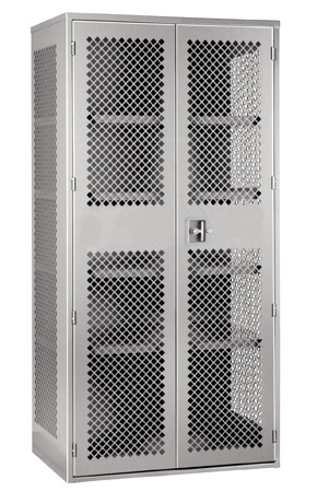 perforated storage cabinets