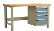 rousseau lg9003 work bench, rousseau workstation