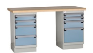 rousseau lh3202c work bench, maintenance workbench