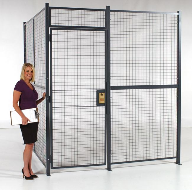 Fencing Wire Partitions Security Cages